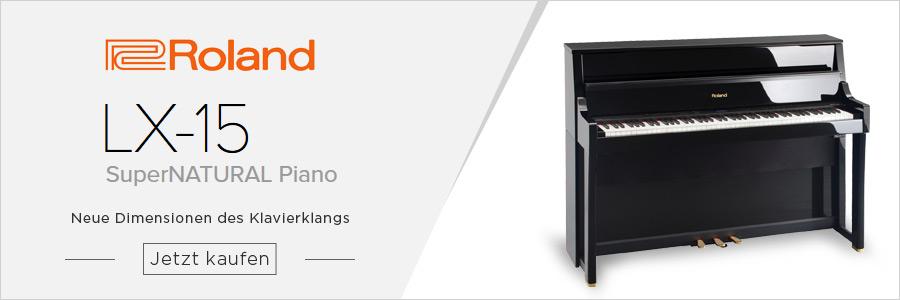 Roland LX-15 PE E-Piano
