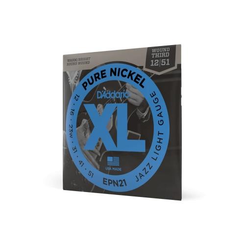 D′Addario EPN-21 Pure Nickel Saiten für E-Gitarre