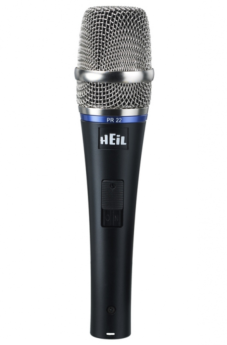 Heil Sound PR 22 SUT Utility w/ switch dynamisches Mikrofon