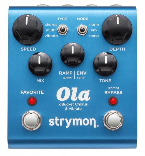 Strymon OLA chorus vibrato Effekt
