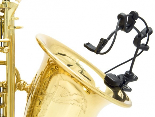 Countryman I2CS10XLR-SKIT Miniaturmikrofon für Trompete und Saxophon