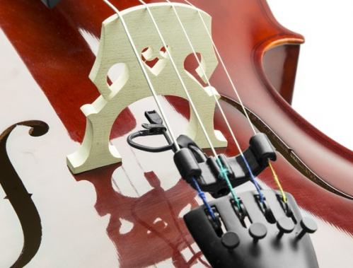 Countryman I2CH10XLR-BKIT Miniaturmikrofon für Cello und Kontrabass