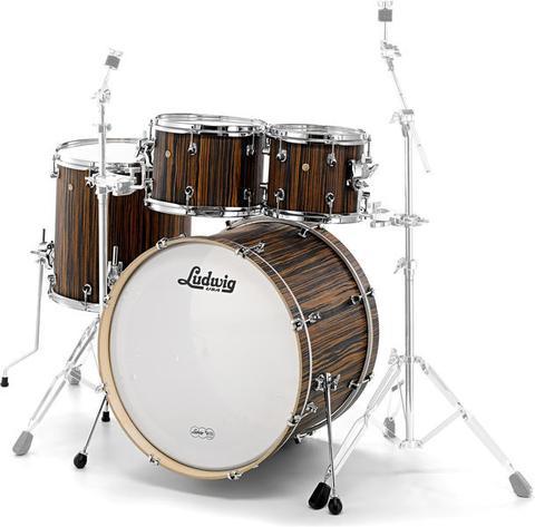 Ludwig Signet L22240XME  Macassar Ebony Drumset