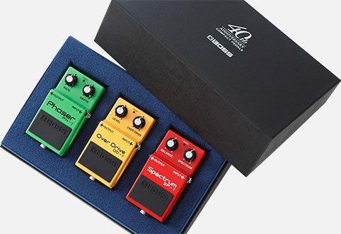 BOSS Box Set 40th Anniversary Effektgeräte