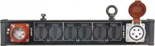 Showtec Breakout Bar 4 power splitter