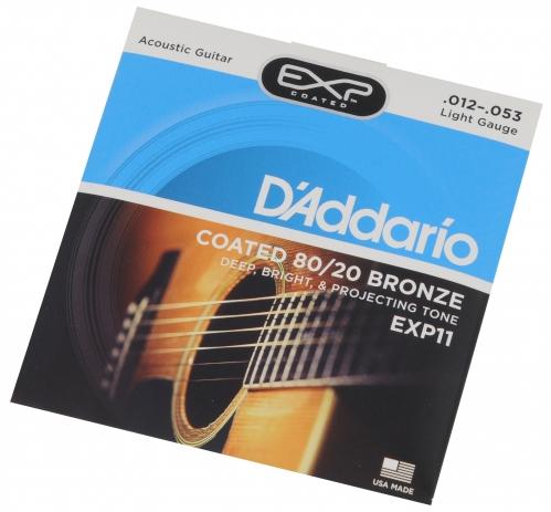 D′Addario EXP 11 Saiten für akustische Gitarre