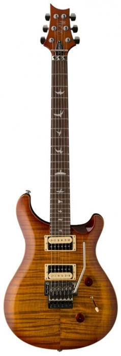 PRS 2017  SE Custom 24 Floyd Vintage Sunburst - electric guitar