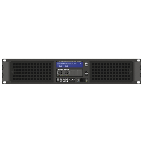 Ram Audio W 6000 końcówka mocy PA 2 x 3025 W, 2Ohm