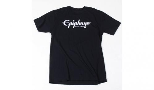 Epiphone Logo T Schwarz Small