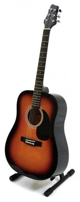 Stagg SW 201 SB akustische Gitarre