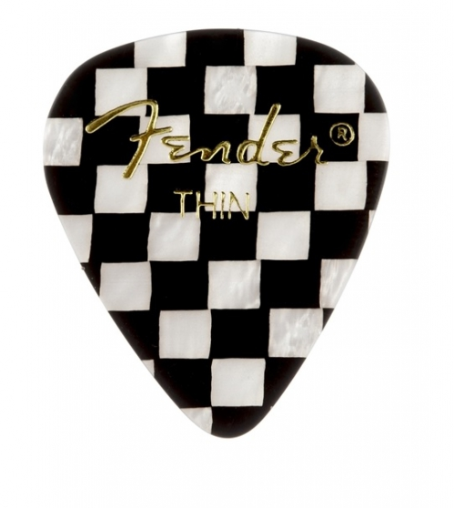 Fender Checker Thin Celluloid guitar pick