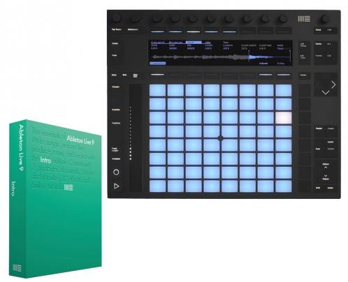 Ableton Push 2 + Live 9 Intro instrument /
