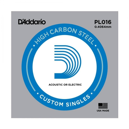 D′Addario PL016  Einzelsaite