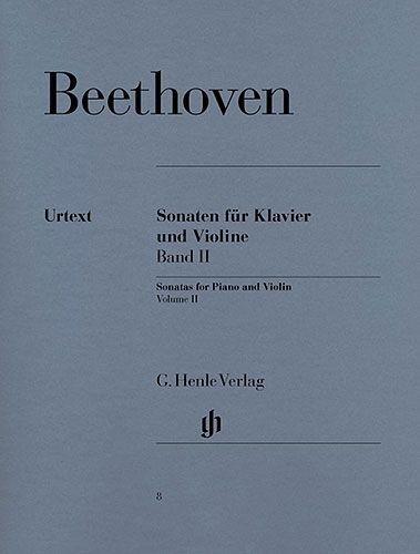 PWM Beethoven Ludwig van - Sonaty skrzypcowe z. 2