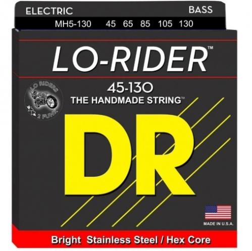 DR MH5-130 Lo-Rider Saiten für Bassgitarre