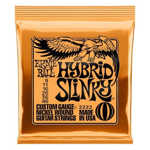 Ernie Ball 2222 NC Hybrid Slinky Saiten für E-Gitarre