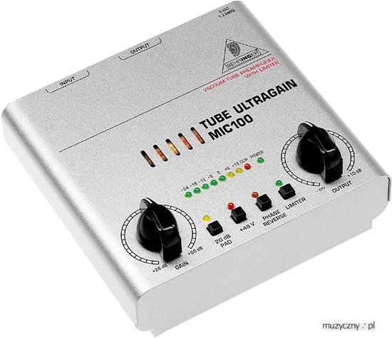 Behringer MIC100 Tube Ultragain Vorverstärker