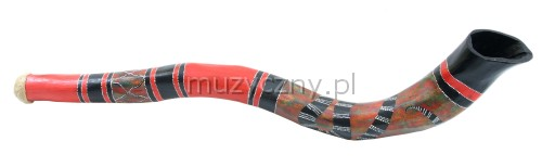 TT didgeridoo, red
