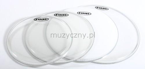 Evans 12″ 13″ 16″ G2 CL/B14G2 CTD Schlagzeugfellsatz