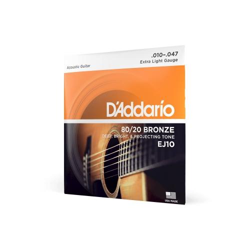 D′Addario EJ-10 Saiten für akustische Gitarre