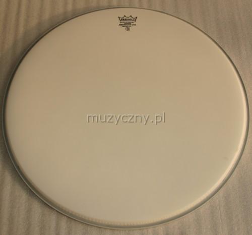 Remo BR-1122-00 Ambassador 22″ weiß beschichtet, Schlagzeugfell