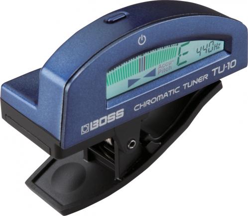 BOSS TU-10 BL chromatischer Stimmgerät