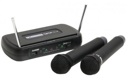 LD Systems WS ECO2x2 HHD2 Drahtlosmikrofon, doppel