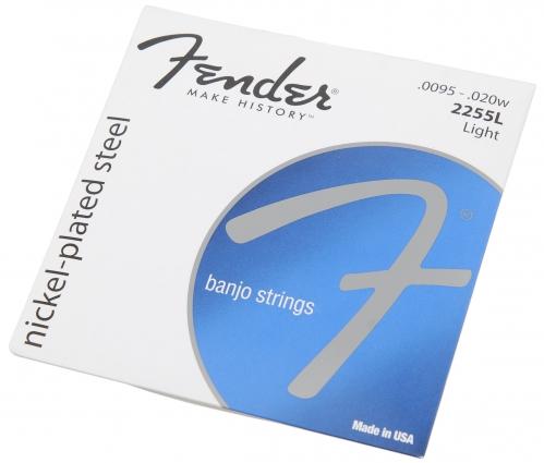 Fender 2255L nickel plated Saiten für Banjo