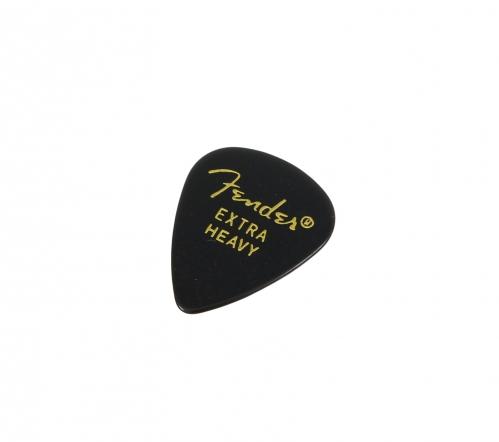 Fender 351 Shape x-heavy black Plektrum