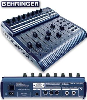 Behringer BCF2000 USB/MIDI