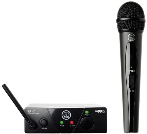 AKG WMS40 mini Vocal Set US45C drahtloses Mikrofon