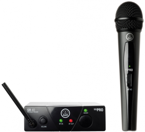 AKG WMS40 mini Vocal Set US45A drahtloses Mikrofon