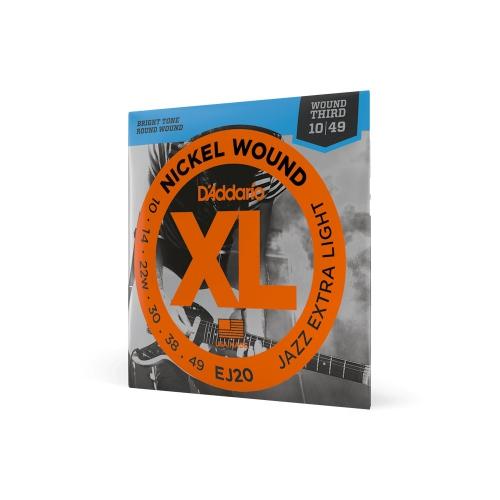 D′Addario XL-EJ-20 Saiten für E-Gitarre