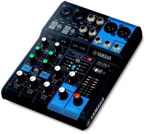 Yamaha MG 06 X Mixer