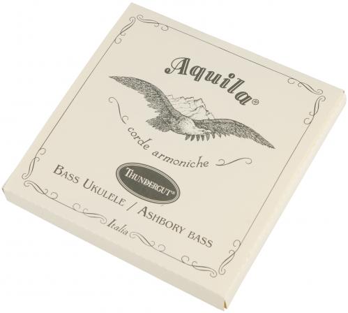 Aquila AQ 69U struny do ukulele basowego G-D-A-E-B - WYPRZEDAŻ