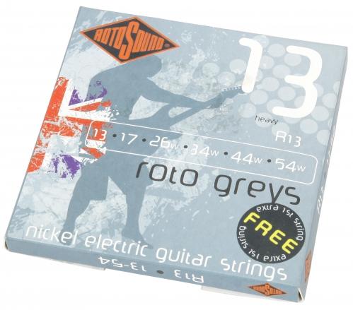 Rotosound R 13 Roto Greys Saiten für E-Gitarre