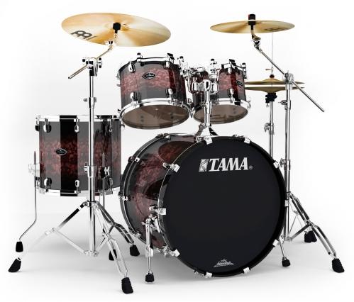Tama PC42S-VCB Starclassic Performer B/B Volcanic Burst Shell Set Drumset
