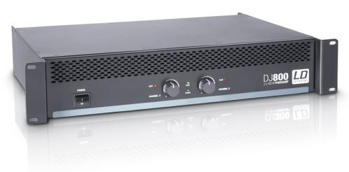 LD Systems DJ 800 Leistungsendstufe