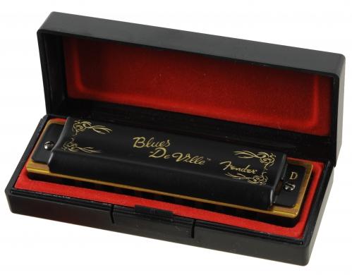 Fender Blues Deville D Mundharmonika