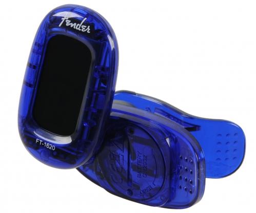 Fender FT-1620 California Lake Placid Blue Stimmgerät für Gitarre