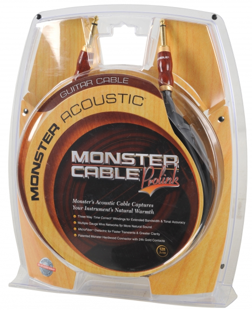 Monster Acoustic 12′ Gitarrenkabel