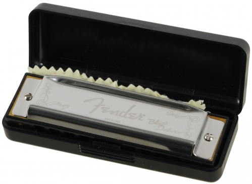 Fender Blues Deluxe A Mundharmonika