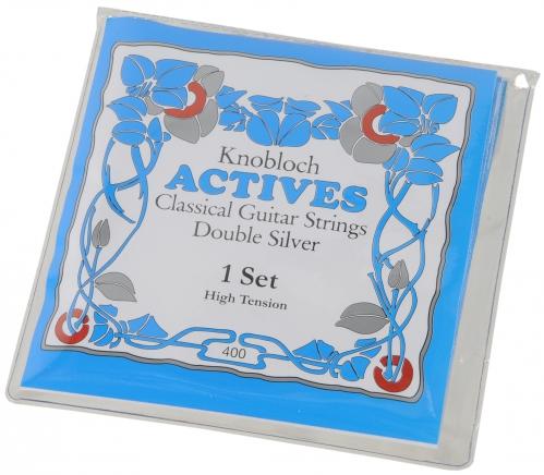 Knobloch Actives 400 High Tension Saitensatz für klassische Gitarre