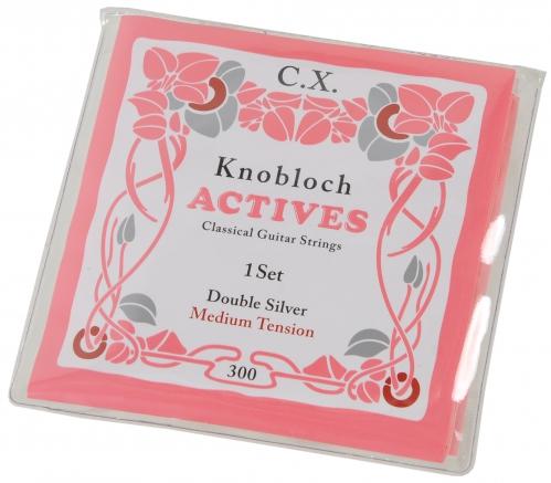 Knobloch Actives 300 C.X Medium Tension Saitensatz für klassische Gitarre