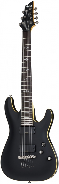 Schecter Demon 7 Aged Black Satin E-Gitarre