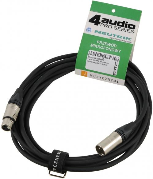 4Audio MIC PRO 5m Leitung