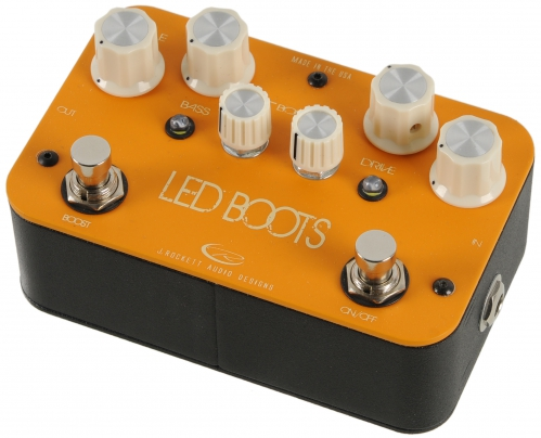 Rockett Phil Brown Led Boots Overdrive Gitarreneffekt