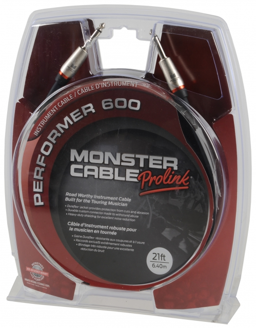 Monster P600-I-21 Instrumentkabel