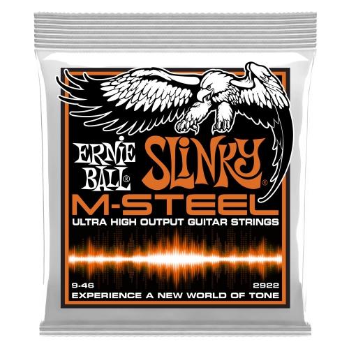 Ernie Ball 2922 M-Steel Slinky 09-46 Saiten für E-Gitarre
