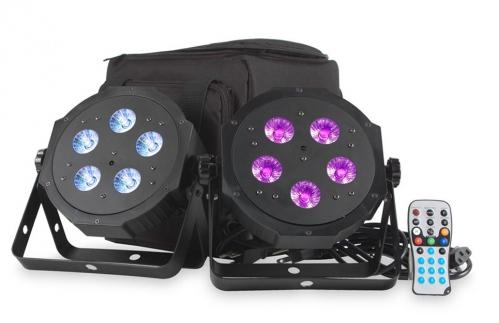 American DJ VPAR PAK - 2 LED Pars + Koffer + IR-Fernbedienung